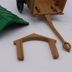 Playmobil Set of 2 Barriers Brown with Post