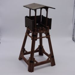 Playmobil Set of 2 Barriers Brown