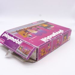 Playmobil White Pony with Brown Mane