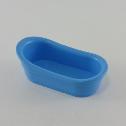 Playmobil Blue Police Man with Pareballe Vest