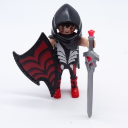 Playmobil Black and Green Moto