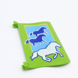 Playmobil White Polizei Helicopter Helmet with Microphone