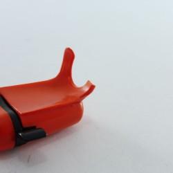 Playmobil Lot de 3 Plumes Rouges Recourbées