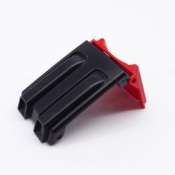 Playmobil Drapeau Blanc & Rouge Lion Noir