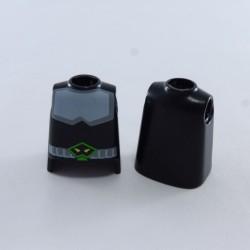 Playmobil 21690 Homme Gris Jaune & Vert avec Bottes Noires