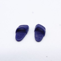 Playmobil 21694 Yellow & Orange man with Drill plate & Gas mask