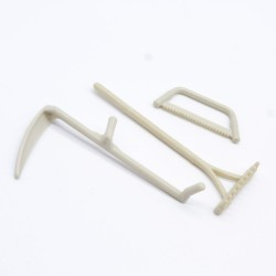 Playmobil 21700 Black man with Black belt & Barefeet