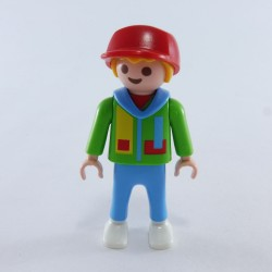 Playmobil 21702 Gray & Red man with Gray Hands