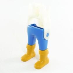 Playmobil Lot de 2 Paires de Jambes Jaune Bottes Armure Gris