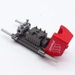 Playmobil Lot de 2 Outils de Pirate : 2 Haches Gris Clair