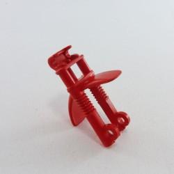 Playmobil Lot de 2 Chapeaux Ronds Jaunes Vintage