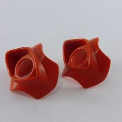 Playmobil Casque Rose & Blanc Adulte pour Velo