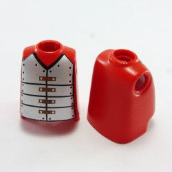 Playmobil 21770 Man Soccer Player Black and White with Black Collar