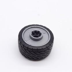 Playmobil Batch of 2 Pairs of Black Legs Milks Red Officer