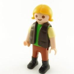 Playmobil Presentoir avec 5 Mini Perruques pour Coiffeur