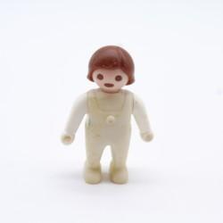 Playmobil Enfant Garçon Rouge Bleu Blanc 1900 5550 5581 5311 Nœud Bleu