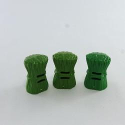 Playmobil Paire de Jambes Noires Points Argent Bottes Rouges