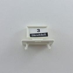 Playmobil Lot de 2 Bustes Noir Dragon Jaune dans le Dos