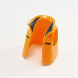 Playmobil Bust Blue Pocket Gold Buttons Worn