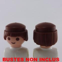 Playmobil 2 Bustes Bleus Soldat Français