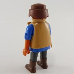 Playmobil Grand Mat Gris Foncé Bateau Pirate 3940