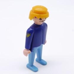Playmobil Monte Charge Bleu pour Ferme