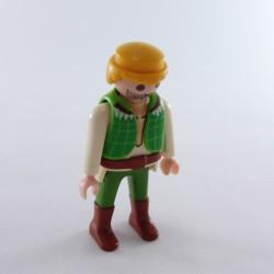 Playmobil Paire de Jambes Vertes Poches Bottes Noires