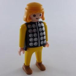 Playmobil Paire de Bras Noirs Mains Grises