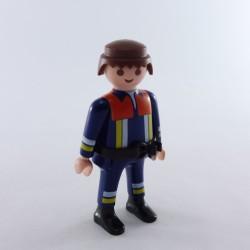Playmobil Tete Bronzée Mal Rasé Cheveux Pirate
